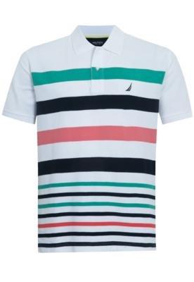 Camisa Polo Nautica Water Listra