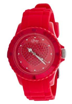 Relógio Condor KW45119V Vermelho