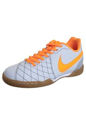 Chuteira Futsal Infantil Nike Jr Flare Cinza
