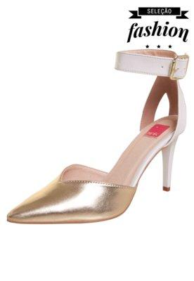 Sapato Scarpin Pink Connection Taylor Branco