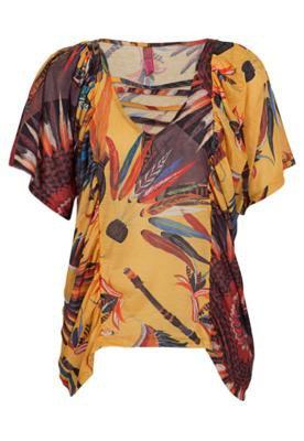 Blusa Loose Amarela - Coca Cola Clothing