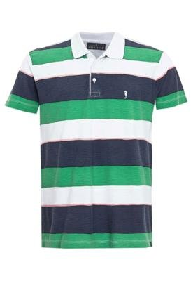 Camisa Polo Pier Nine Rony Branca