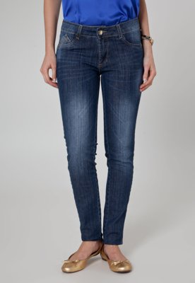 Calça Jeans Sawary Skinny Deluxe Azul