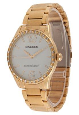 Relógio Backer W 3060145F Dourado