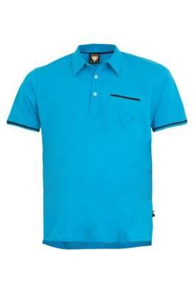 Camisa Polo Cavalera Pocket Azul