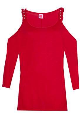 Blusa Recorte Vermelha - Pink Connection