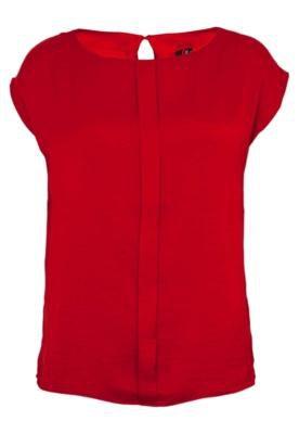 Blusa MNG Barcelona Triski Vermelha