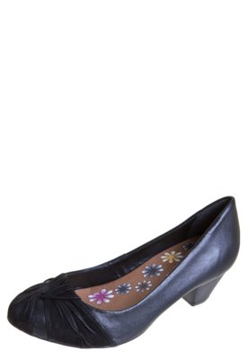 Sapato Scarpin Bottero Nó Frente Preto