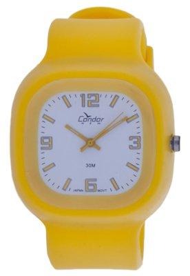 Relógio Condor KV45192/B Amarelo