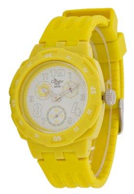 Relógio Condor KZ45090Y Estilos Amarelo