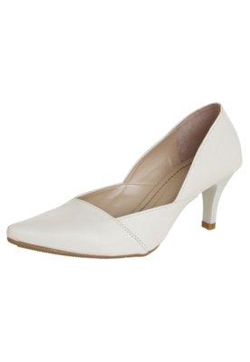 Sapato Scarpin Pink Connection Classic Branco