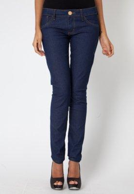Calça Jeans Forum Pespontos Azul