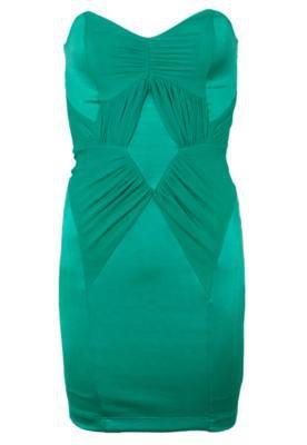 Vestido Curto Colcci Small Draping Verde