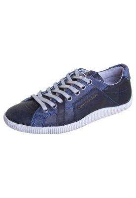 Tênis Calvin Klein Jeans Mármore Azul