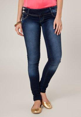 Calça Jeans Sawary Skinny Donna Azul