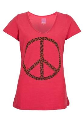 Blusa Pink Connection Peace Rosa