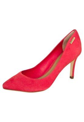 Sapato Scarpin Dumond Salto Médio Bico Fino Vermelho