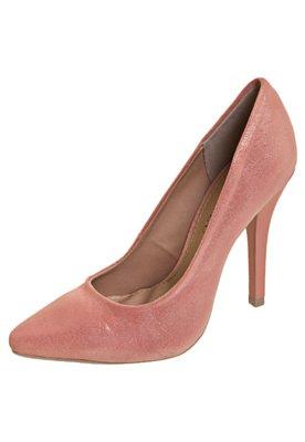 Sapato Scarpin FiveBlu Metalizado Rosa