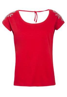 Blusa Pop Touch Shine Vermelha