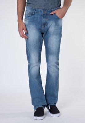 Calça Jeans Reta Nagoc Azul - Sawary