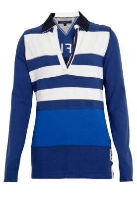 Camisa Polo Tommy Hilfiger Universal Listrada