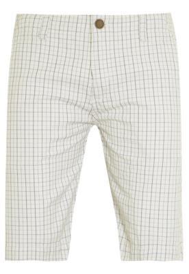 Bermuda Sarja Menswear Chino Quadriculada Branca - VR