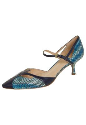 Sapato Scarpin Cavage Lorene Azul