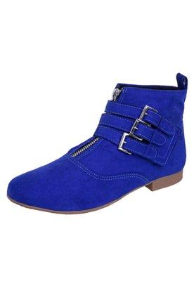 Bota FiveBlu Fivelas Azul