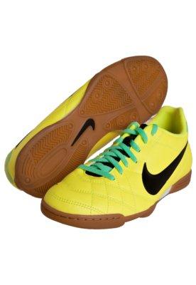 Chuteira Futsal Nike Tiempo Rio IC Amarela