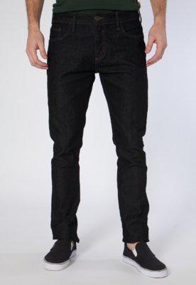 Calça Jeans Triton Straight Gils Black Preta