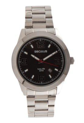 Relógio Seculus 28251G0SBNA1 Prata