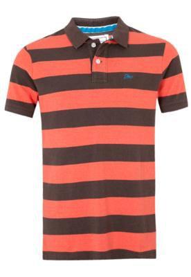 Camisa Polo Ellus Lis Marrom