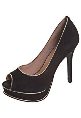 Peep Toe Vivo Preto - My Shoes