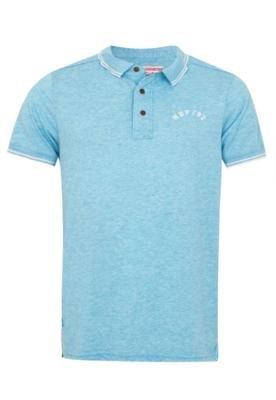 Camisa Polo Handbook Luan Azul