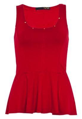 Blusa Pop Touch Chic Vermelha