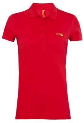 Camisa Polo Coca-Cola Clothing Small Board Vermelha - Coca C...