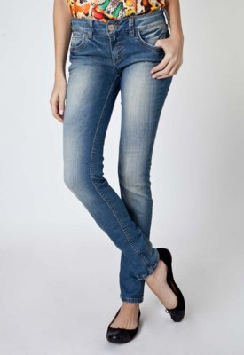 Calça Jeans Colcci Skinny Katy Estonada Azul