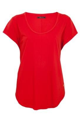 Blusa Evasê Triton Ideal Vermelha