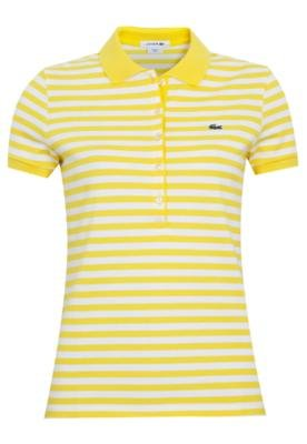 Camisa Polo Lacoste Soft Listra