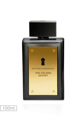 Eau de Toilette The Golden Secret 100ml - Perfume - Antonio ...