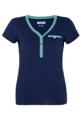 Blusa Pocket Azul - FiveBlu