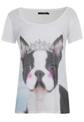 Blusa OH BOY Bulldog Coroa Branca
