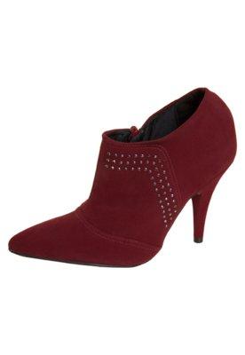Ankle Boot Hotfix Vermelha - Crysalis