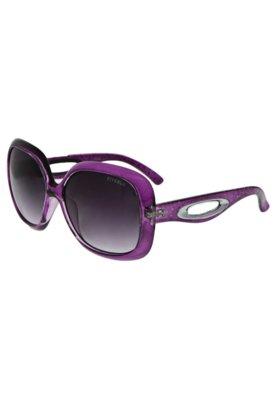 Óculos Solar Estampa Vazado Roxo - FiveBlu