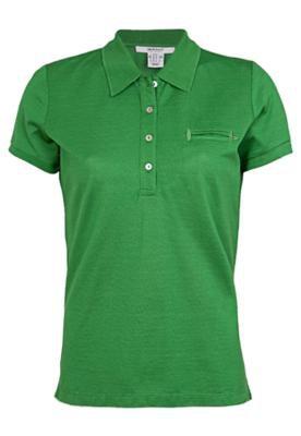 Camisa Polo Gant Mercerized Verde
