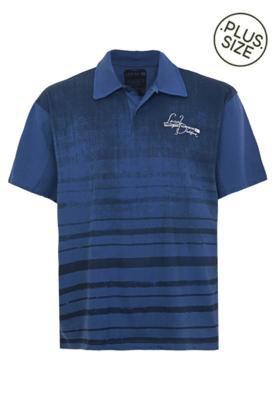 Camisa Polo Local Street Azul