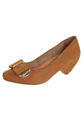 Sapato Scarpin Ramarim Total Comfort Salto Baixo Embutido La...