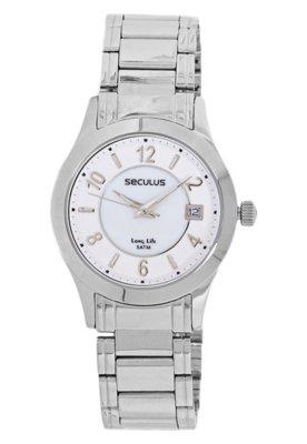 Relógio Seculus 28163L0SBNA1 Prata