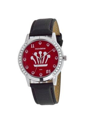 Relógio Mondaine Preto Analógico