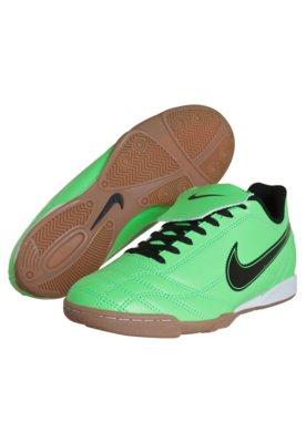 Chuteira Futsal Nike Egoli IC EMB Verde
